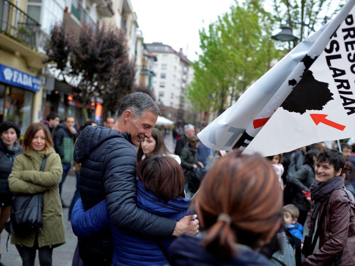 Foto: Los actos de 'ongi etorri', en el punto de mira (Reuters/Vincent West)