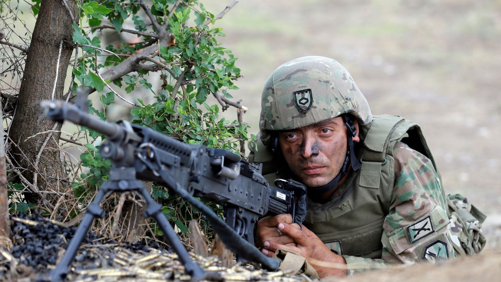 Foto: No hace falta ingresar en el ejército para hacer la dieta militar (EFE/Zurab Kurtsikidze)