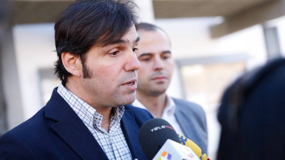 Foto: Guillermo Gross, alcalde de Valdemoro y líder de Ciudadanos en el municipio.