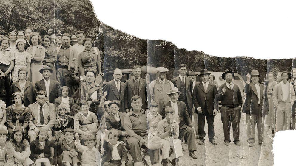 Boinas en Nueva York, el álbum de la emigración española en los EEUU