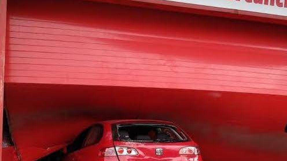 Robo de película en Majadahonda: un coche sale de un camión y se llevan 70.000 € en móviles