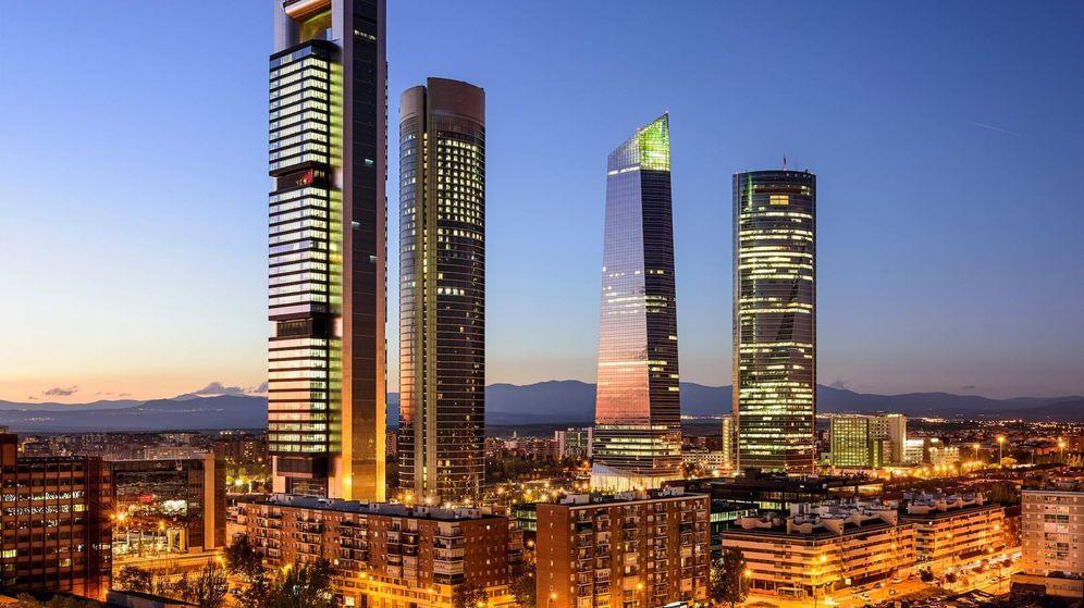 Foto: Torre Cepsa (Pontegadea) y Torre Cristal (Mutua Madrileña) buscan nuevo suministrador eléctrico