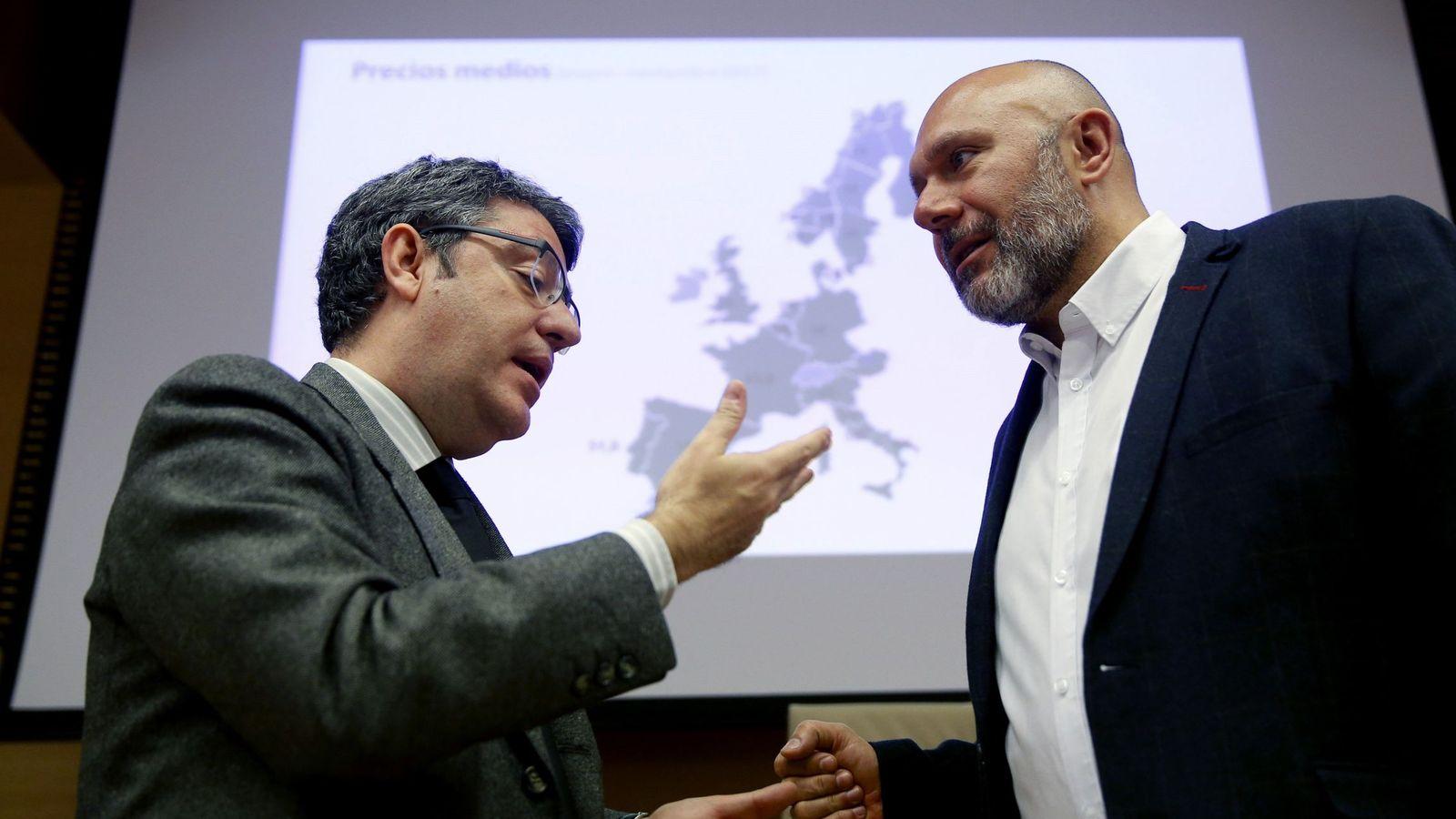 Foto: Comparecencia ministro alvaro nadal