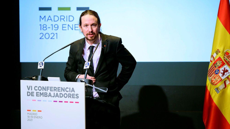 Pablo Iglesias hace de Alfonso Guerra
