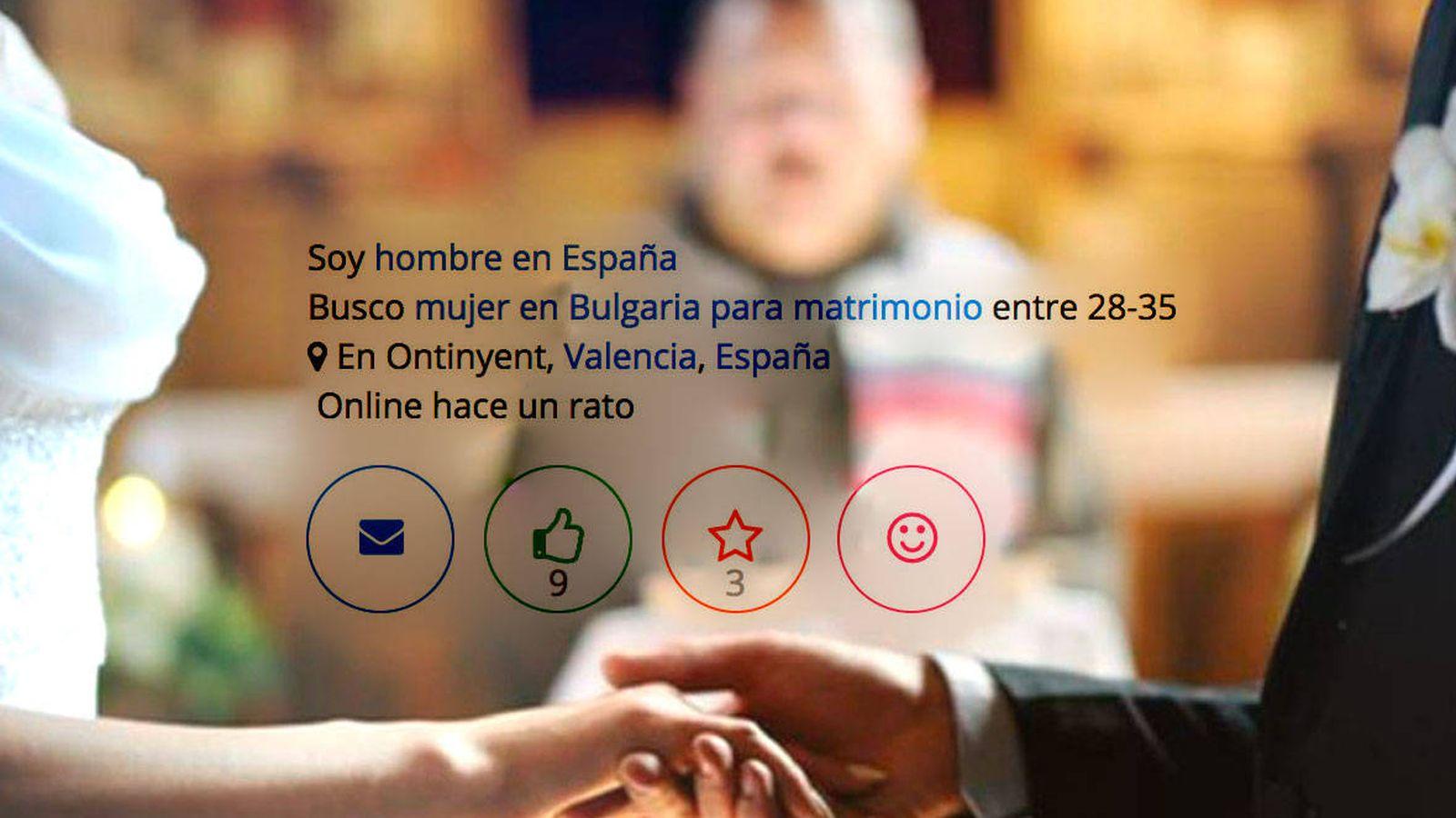 mujeres para casarse en espana