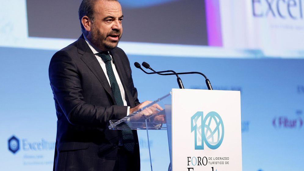 Foto: l presidente de Exceltur y presidente ejecutivo de Melia Hotels, Gabriel Escarrer