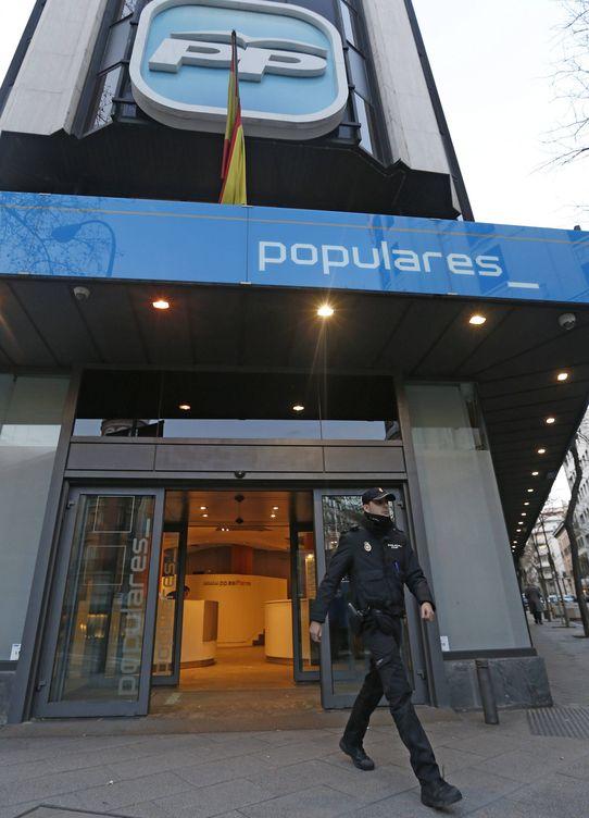 Sede del Pp en Génova (Madrid). (Efe)