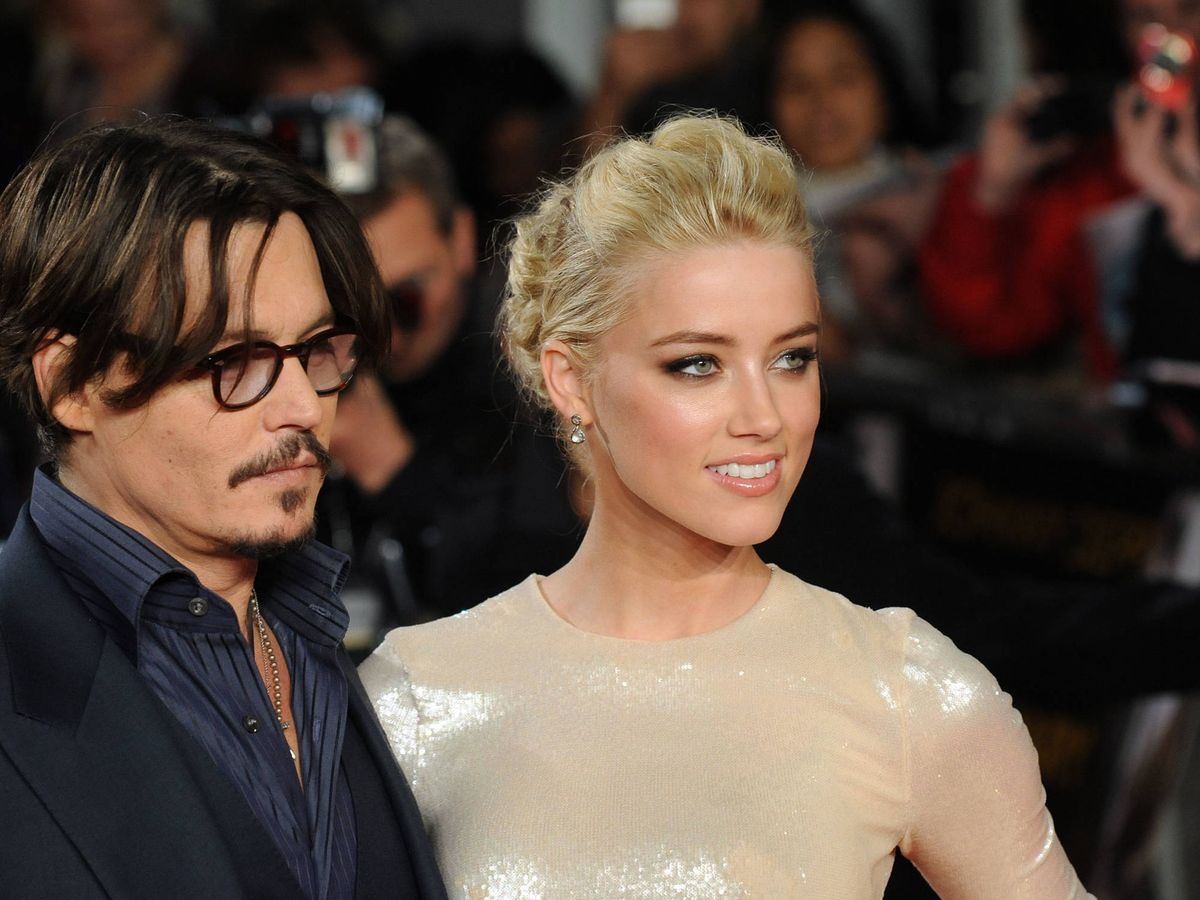Foto:  Johnny Depp y Amber Heard, en una foto de 2011. (Getty)