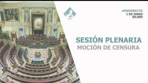 Siga en directo la votación de la moción de censura