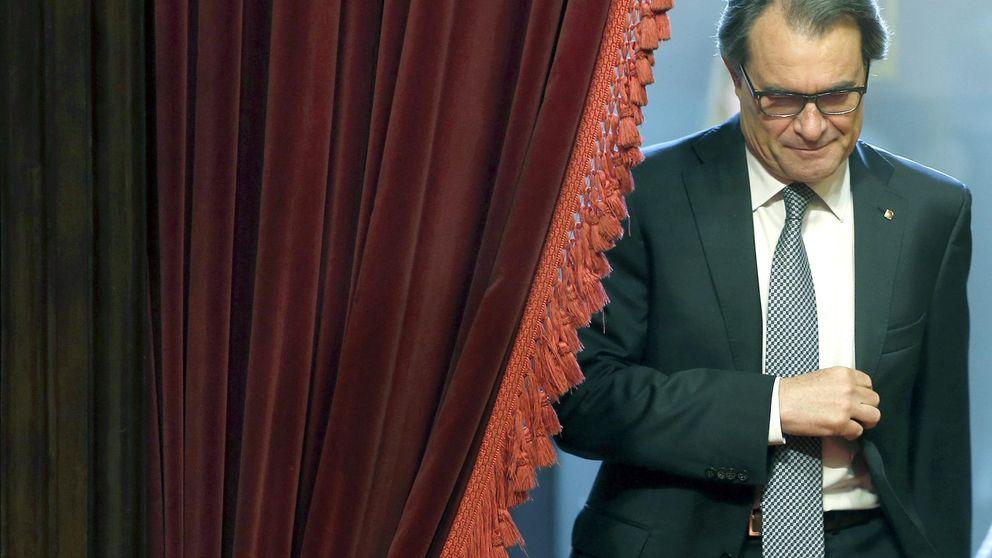 Mas consigue récords de jura de bandera en Cataluña
