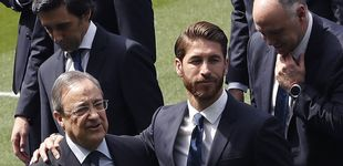 Post de Solo Sergio Ramos puede disputar la presidencia a Florentino Pérez