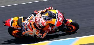 Post de Paliza de un abucheado Márquez en el GP de Francia de MotoGP, ¿quién le tose ahora?