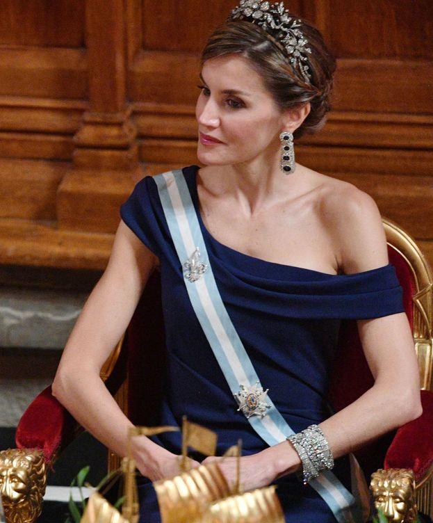 Foto: La reina Letizia en una imagen de archivo. (Gtres)