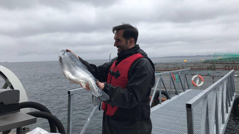 Foto: El chef Mario Sandoval. (Seafood from Norway)