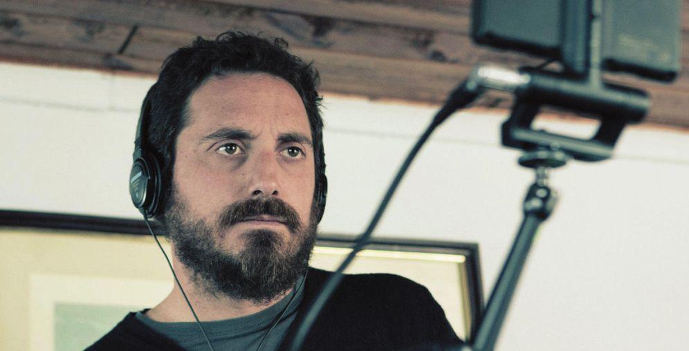 Foto: El director chileno Pablo Larraín en el rodaje del filme
