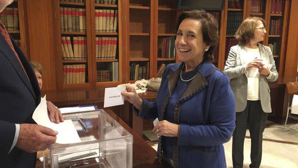Foto: Victoria Prego, presidenta de la APM. (EFE)