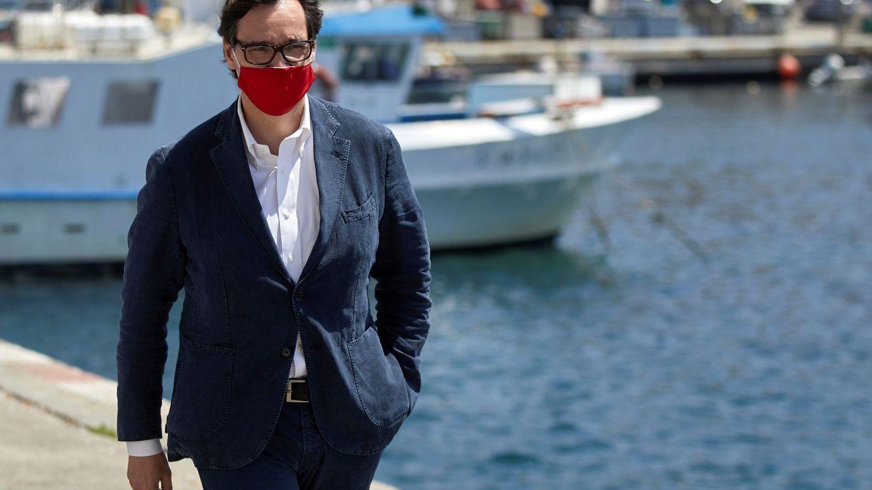 Las vacaciones del ministro Illa: ni playa ni chiringuito. Está en Teruel