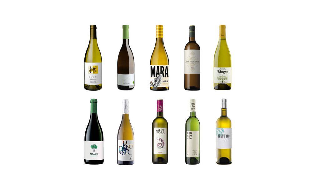 10 vinos blancos por menos de 10 euros para triunfar dentro y fuera de casa