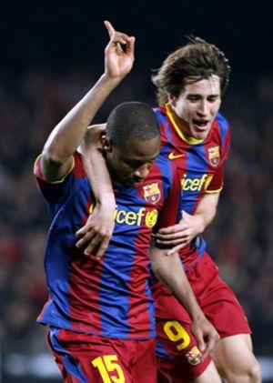 El Barça, apático y desconocido, no sufre pensando en el Arsenal