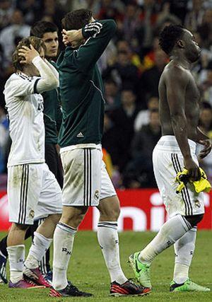En el Santiago Bernabéu todo estaba preparado para la remontada