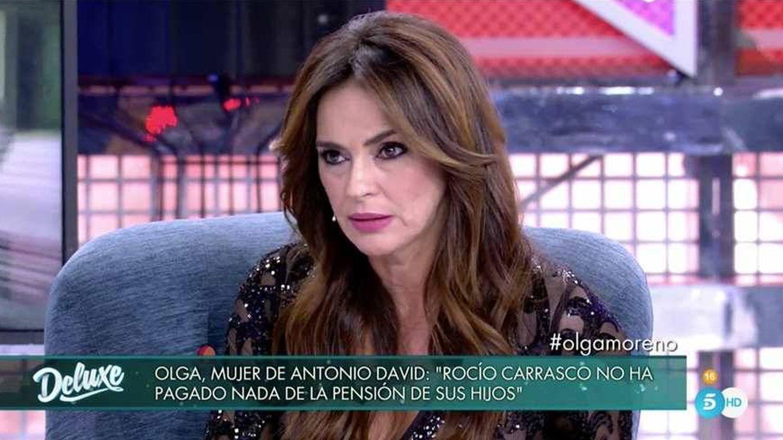 Olga Moreno, en 'Sábado Deluxe'. (Mediaset España)