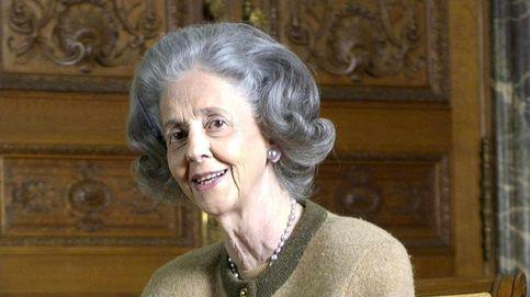 El conflicto judicial que empaña el 'legado español' de la reina Fabiola de Bélgica