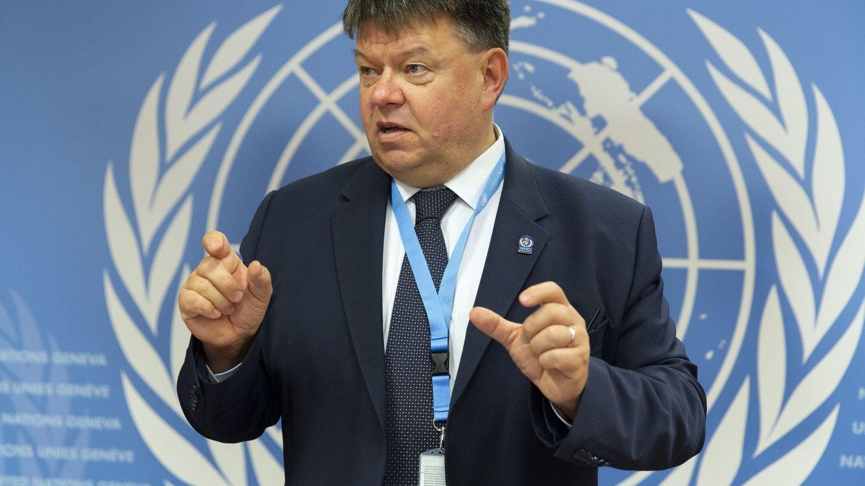 El Secretario General de la OMM, Petteri Taalas. Foto: EFE