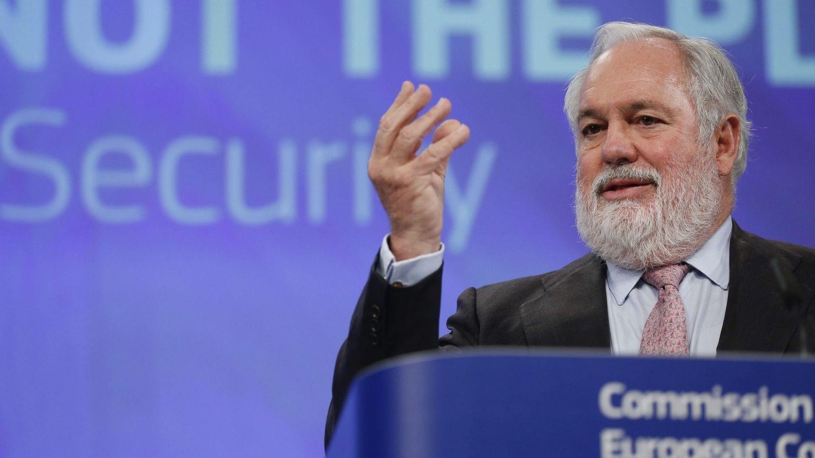 Foto: El comisario europeo de Acción por el Clima y Energía, Miguel Arias Cañete. (Efe)