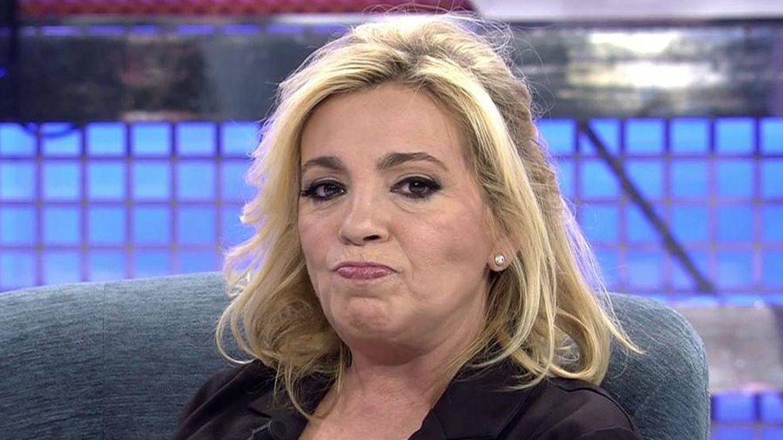 Carmen Borrego da la cara y muestra su enfado. (Mediaset España)