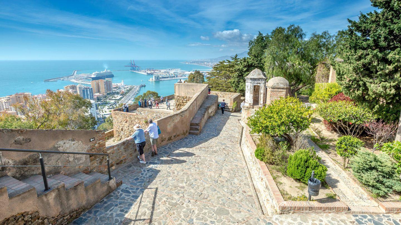 Castillo de Gibralfaro en Málaga (Fuente: iStock)