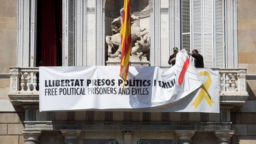 Quim Torra pone fin a la crisis de los lazos a costa de debilitar a la Generalitat