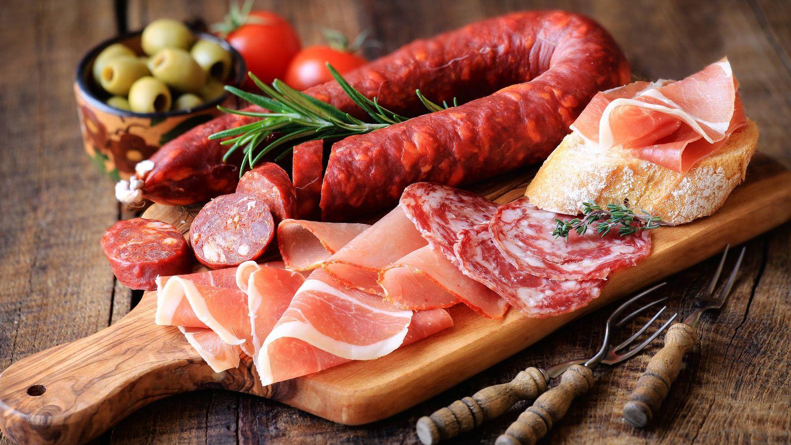 Carne: Todo lo que ponen en jamones y embutidos (y que no es carne)