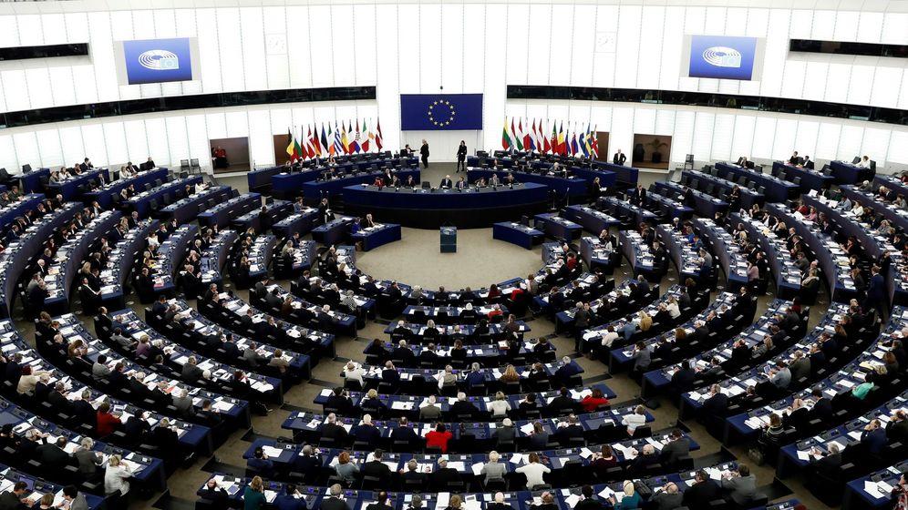 Foto: Vista general de una sesión plenaria en el Parlamento de Estrasburgo. (EFE)
