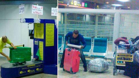 La mafia de las maletas crece impune en Barajas y ya recauda 12 millones en negro