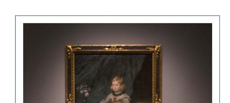 Foto: Los Príncipes y sus hijas felicitan la Navidad ante un Velázquez en el Museo del Prado