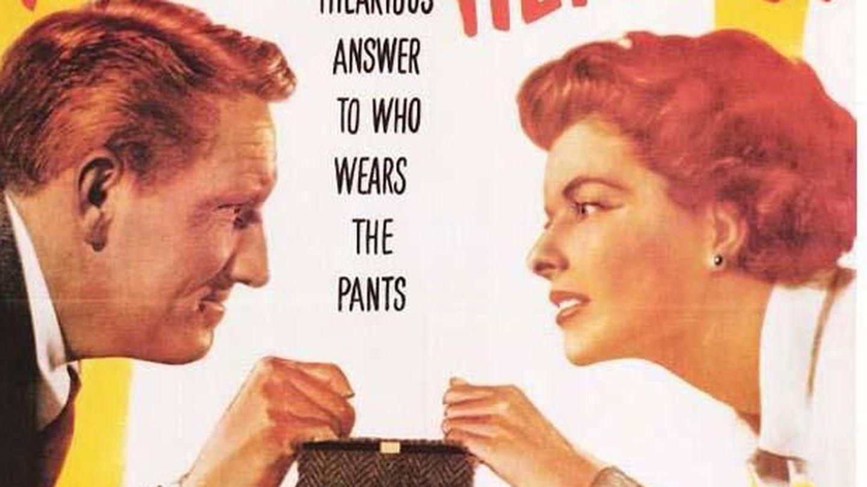 Katharine Hepburn declara la guerra matrimonial a Spencer Tracy. ¿Hacen falta más explicaciones?
