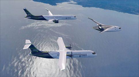 Así son los tres aviones de hidrógeno con los que Airbus quiere revolucionar los vuelos