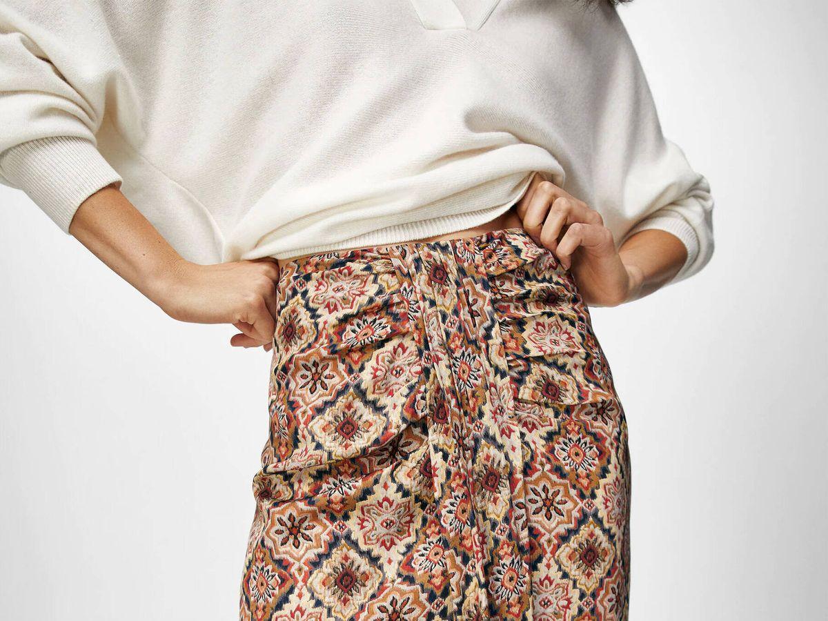Foto: Massimo Dutti tiene cuatro faldas midi o largas perfectas para la vuelta al trabajo. (Cortesía)