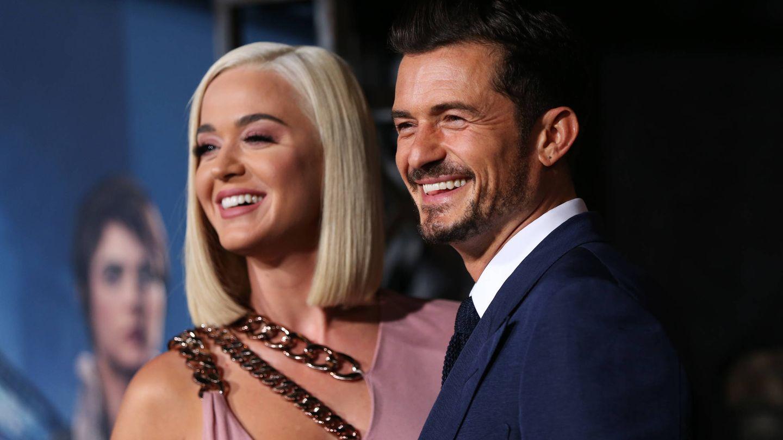 Katy Perry y Orlando Bloom, futuros papis. (Getty)