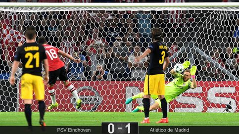 Oblak olvida la tanda de Milán y salva a un Atlético que se conforma con poco