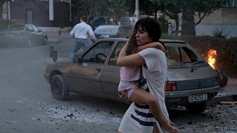 Arantxa (Loreto Mauleón) en una escena del séptimo episodio de 'Patria'. (Foto de David Herranz. HBO España)