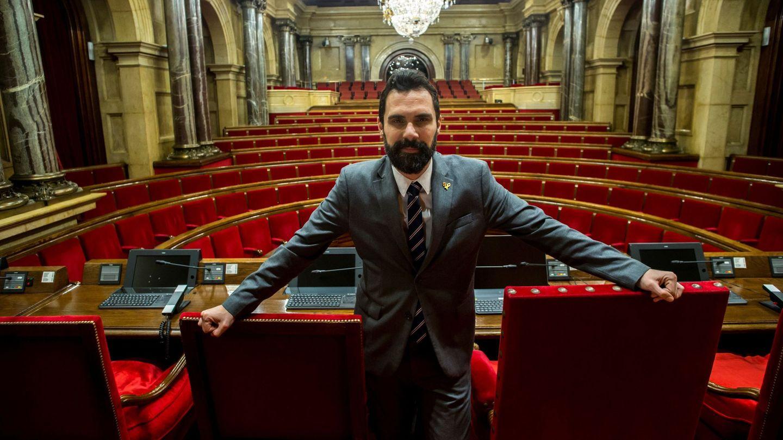 El presidente del Parlament de Cataluña, Roger Torrent. (EFE)