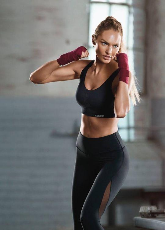 Foto: Si vas al gimnasio, hazlo bien. (Foto: Victoria's Secret)
