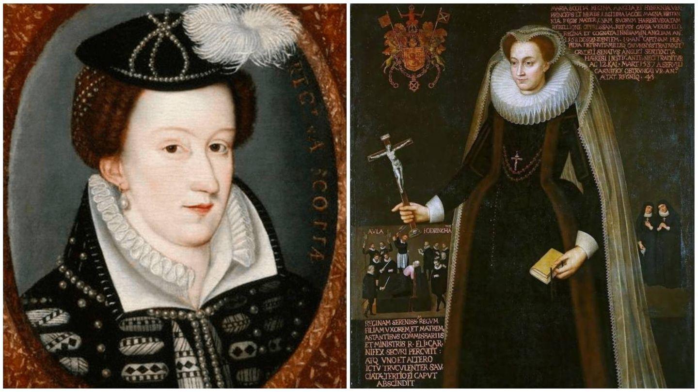 Retratos de madurez de la monarca escocesa. (National Portrait Gallery)