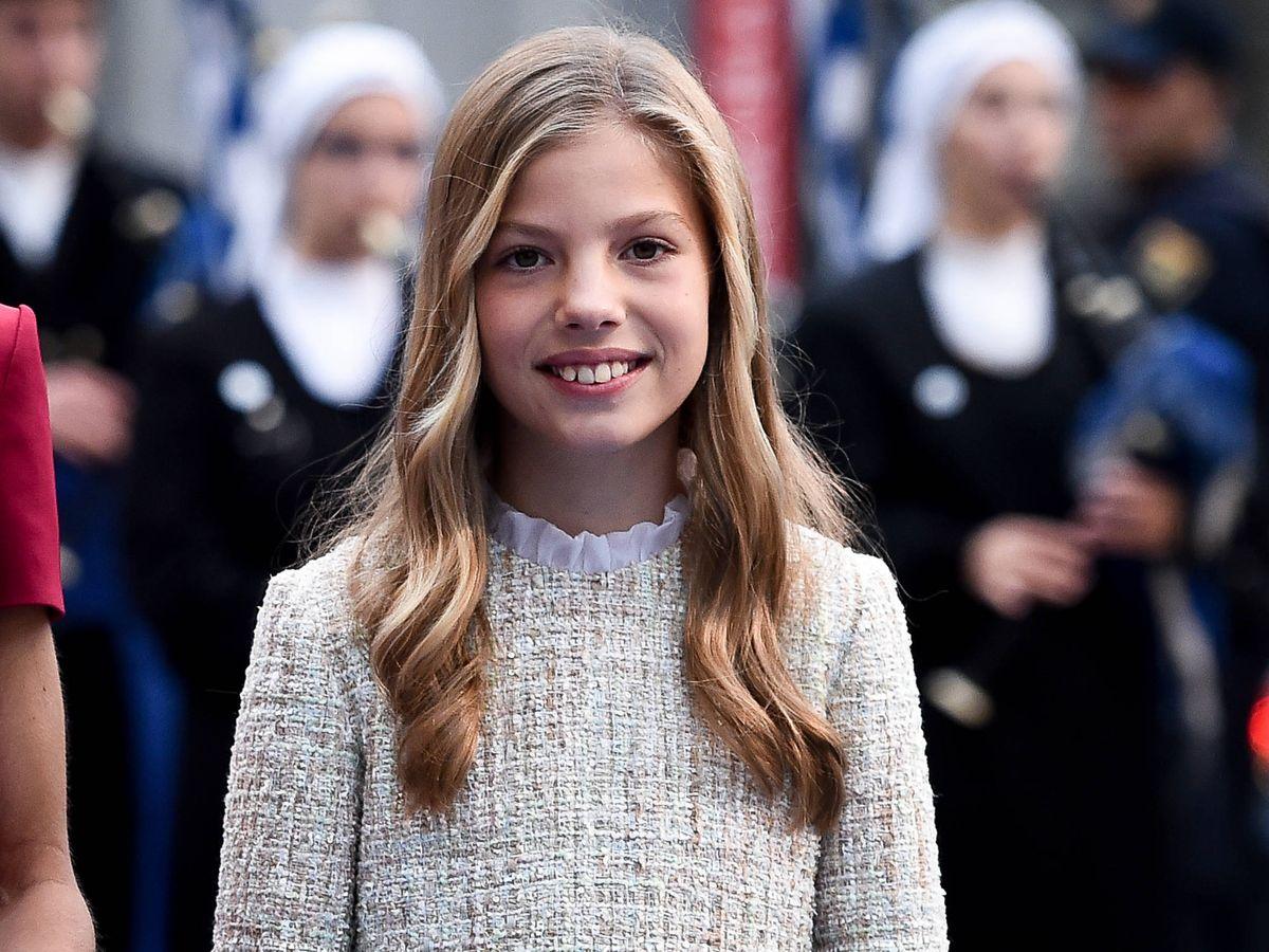 Foto:  La infanta Sofía, en una imagen de archivo. (Getty)
