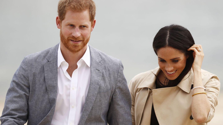 El príncipe Harry y Meghan Markle en una imagen de archivo. (EFE)