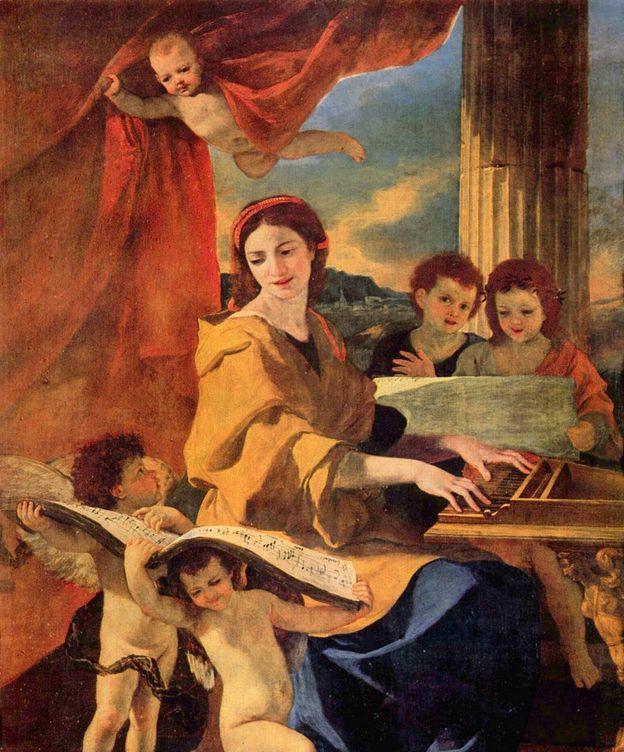 Foto: Santa Cecilia de Roma, patrona de la Música