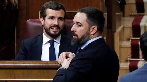 Casado y Abascal, la derecha quiere su 15-M