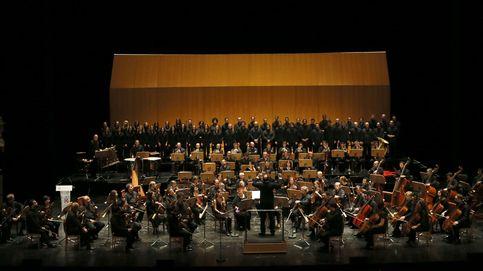 Cotillard sopla las velas del 200 cumpleaños del Teatro Real