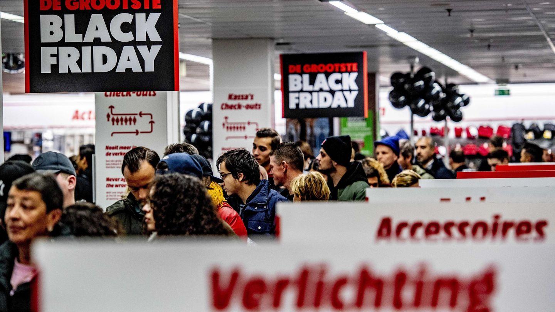 'Black Friday' del año 2018 en MediaMarkt. (EFE)